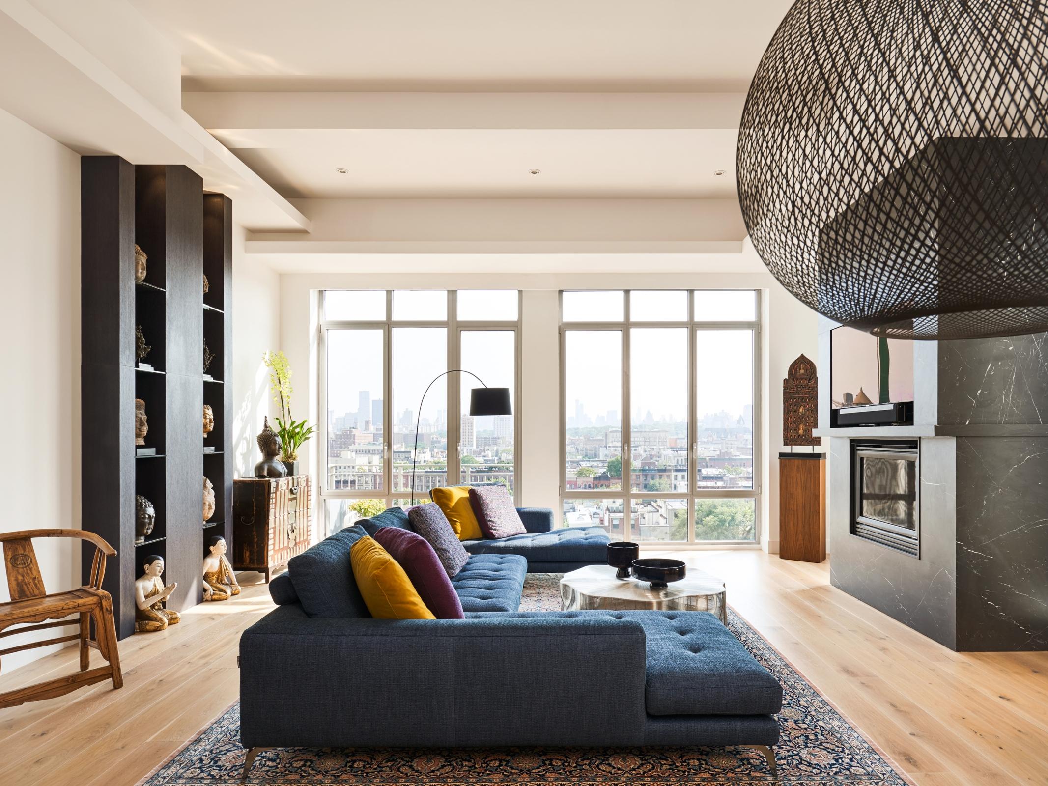 Living Room | Harlem Luxury | Francis Interiors