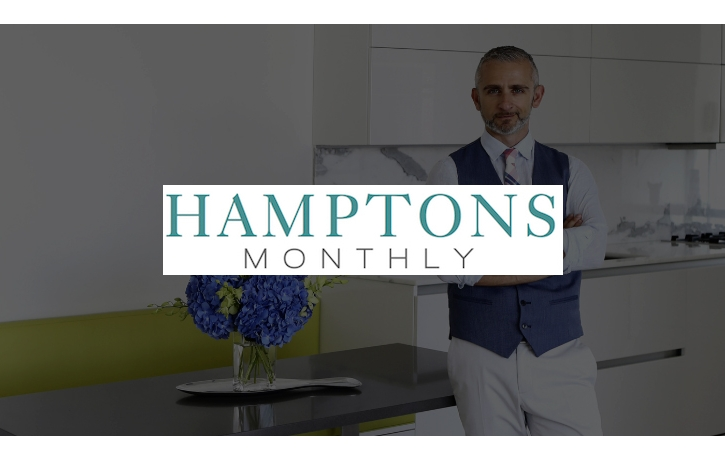 Francis Toumbakaris featured in Hamptons Monthly